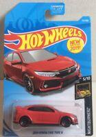 2019 hot wheels honda civic type r