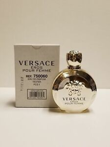 VERSACE EROS POUR FEMME 3.4OZ EDP SPRAY BY VERSACE FOR WOMEN NEW IN TESTER BOX