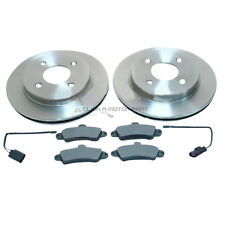 FORD COUGAR 2.0 2.5 24V 1997-2001 REAR 2 BRAKE DISCS AND PADS SET NEW