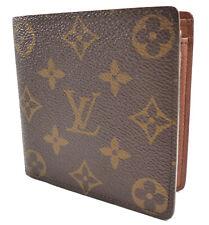 Louis Vuitton Authentic Men's Wallet Monogram Canvas & Leather Marco Bifold