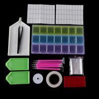 5D Diamond Painting Tools Kit DIY Hand Embroidery Painting Accessories Set AU