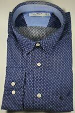 New Authentic Nautica Men's Classic Fit Long Sleeve Dress Casual Shirt SALE