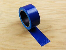 "2"" Blue Colored Duct Tape Colors Waterproof UV Tear Resistant 20 yd 60' Roll"