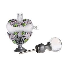Handmade Vintage Empty Butterfly Crystal Metal Perfume Bottle Wedding Gifts 8ml