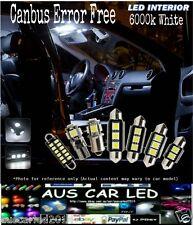 Audi S6 2008 canbus error free 6000k Bright White LED Interior Light Kit