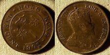 Hon Kong : 1902  1 Ct  AU-UNC  Some Red # 11    IR3633