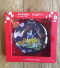 Cath Kidston Disney Snow White 2018 Collectable Bauble Brand New In Box