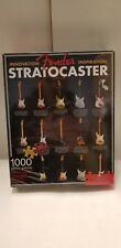 Fender Stratocaster Guitar 1000 Piece Puzzle Made By Aquarius. Sealed In Box