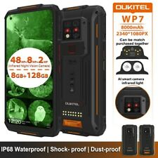 OUKITEL WP7 IP68 Waterproof 8GB 128GB 8000mAh Rugged Infrared Night Vision Phone