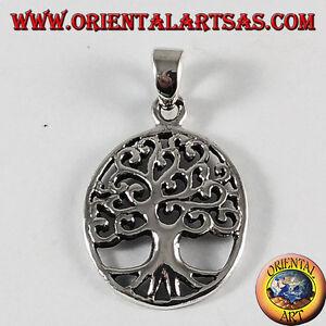 Anhänger Silber, Baum des Lebens (Oval)