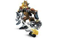 Lego 8918 Bionicle Mahri Nui Barraki Carapar robot complet de 2007 -N10