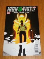 IRON FIST #2 MARVEL COMICS NM (9.4)