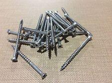"25LBS 305 STAINLESS STEEL 3"" # 8 Trim Head DECK SCREW Star Drive <FREE SHIP>"