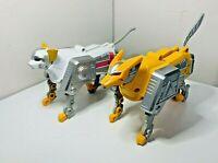 Power Rangers Lost Galaxy Deluxe 1999 Bandai Zords Wildcat Figures Parts Toy
