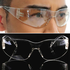 Hot Safety Clear Goggles Glasses Vented Eye Protection Lab Work Anti Fog Eyewear