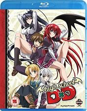 HIGH SCHOOL DXD COMPLETE SERIES COLLECTION - BLU-RAY - REGION B UK