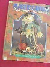 "Vintage "" Seasonal Sensations ""Plastic Canvas Pattern Book 176Pgs Holidays"