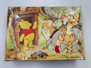 "Vintage Disney Winnie The Pooh 48 Pc 12 x 17"" Complete Springbok Jigsaw Puzzle"