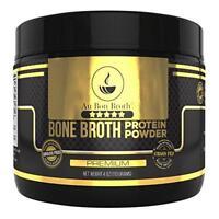 Genuine Grass Fed Organic Bone Broth Protein Powder Collagen 4oz Premium Flavor