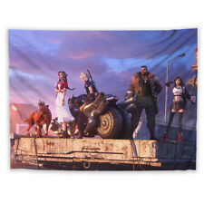 Final Fantasy VII Tapestry Art Wall Hanging Cover Home Decor