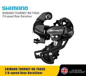 SHIMANO TOURNEY RD-TX800 7/8-speed Rear Derailleur - Long Cage (SGS)