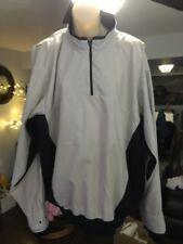 ZERO RESTRICTION Golf Outerwear Men's 1/4 Zip Lightweight Pullover Jacket Large