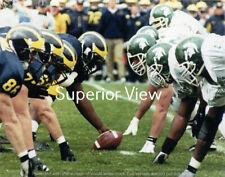 Michigan State vs: University of Michigan Football Goal Line Stance MUST SEE