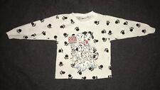 Vintage Disney 101 Dalmations Shirt Kids Size 2T