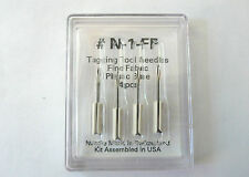 Tagging Tool Fine Fabric Plastic Base (4 pcs) N-1-Ff Needles >New<