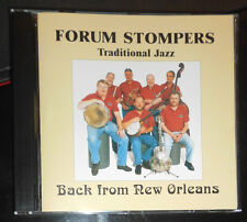 FORUM STOMPERS TRADITIONAL JAZZ BACK FROM NEW ORLEANS CD