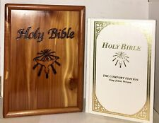 HOLY BIBLE ~ The comfort Edition, KJV. 1991 United Bible Services, NICE!!!!!!!!!