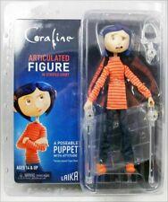 articulée figure Coraline Coraline en chemise rayée et Jean-NECA