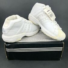 adidas Pro Model 2G W Womens 9 Casual Walking Shoes White  Vintage DS 148567
