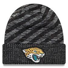 hot sale online 1e07d e2190 Jacksonville Jaguars New Era Men s 2018 On-Field TD Knit Hat - Black