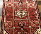 """3'4""""x5' Excellent Fine Hand Knotted wool Geometric Hamadann Oriental area rug"""