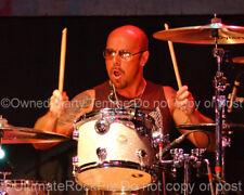 JASON BONHAM PHOTO FOREIGNER LED ZEP 8x10 Concert Photo by Marty Temme 1A DRUMS