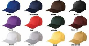 FLEXFIT Structured Athletic Mesh FITTED Hat Baseball Sport Cap ADULT YOUTH 6777
