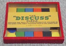 """Vintage """"analizar"""" destreza Juego de puzzle-R. Journet"""