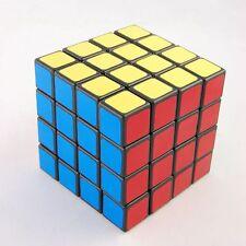 US Lanlan 4x4 Black Speed Magic Puzzles Cube Toys Twist Gift Game Toy for Kids