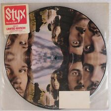 STYX: Pieces of Eight '78 Limited Edition Picture Disc Prog Rock LP VG++