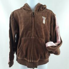 Gymboree Sz 5 Velour Siamese Kitty Cat Jacket Brown Pink Teachers Pet Hoodie
