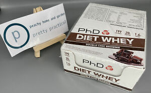 PHD Supplements Diet Whey High Protein Training Bars 12x 65g Double Choc Brownie