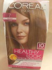 L'Oreal Healthy Look Creme Gloss Hair Color Dark Blonde Latte#7 ORIGINAL FORMULA