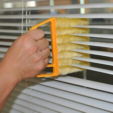 Microfibre Venetian Blind Window Clean Brush Air Conditioner Duster Dirt Cleaner