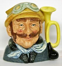 LARGE ROYAL DOULTON CHARACTER JUG. D6633 VETERAN MOTORIST ***** PERFECT *****