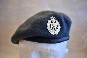 BRITISH RAF MILITARY ROYAL AIR FORCE BERET / BADGE