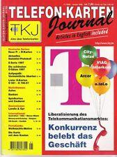 TK Telefonkarten Zeitung TKJ Telefonkarten Journal 1998 Nr. 1