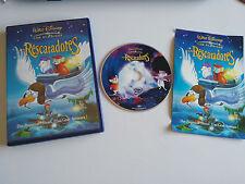 LOS RESCATADORES DVD + EXTRAS LOS CLASICOS WALT DISNEY ESPAÑOL ENGLISH