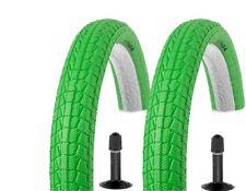 2x Kenda BMX Freestyle Fahrrad Reifen 20Zoll 20x1.95 50-406 KRACKPOT AV Schlauch