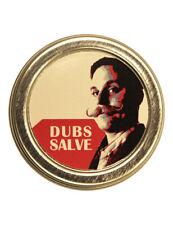 Dubs Stache Wax Mens Salve-ation Lip Balm Shave Shaving Cut Healing Balm Tin